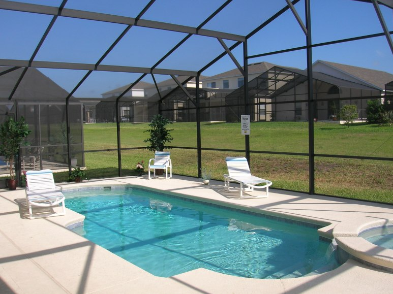 Pool with Extended Deck
